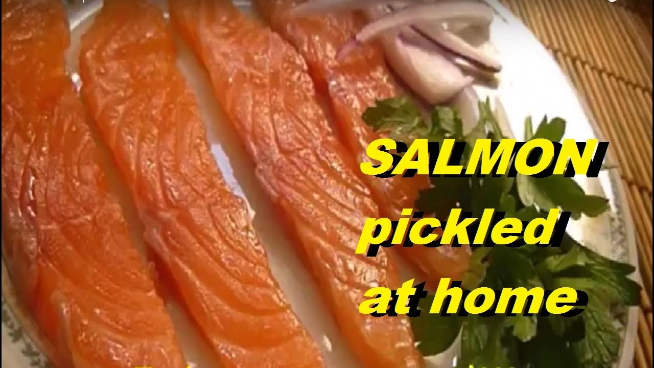 How to pickle salmon at home - 12 step-by-step recipes 7