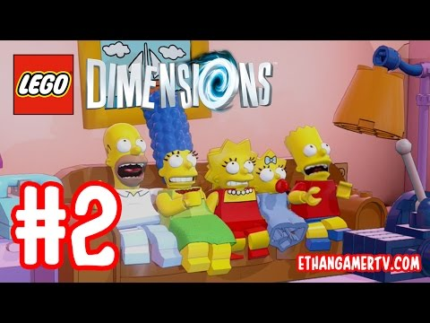 LEGO Dimensions (#2) - Meltdown at Sector 7-G | KID GAMING