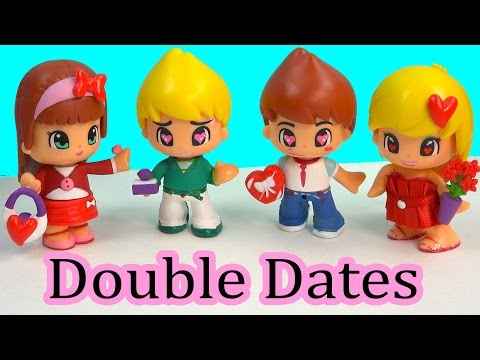 Pinypon Valentines Double Date Playset Doll Sets Toy Unboxing Review Cookieswirlc