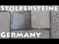 The Holocaust & Germany - Project Stolpersteine