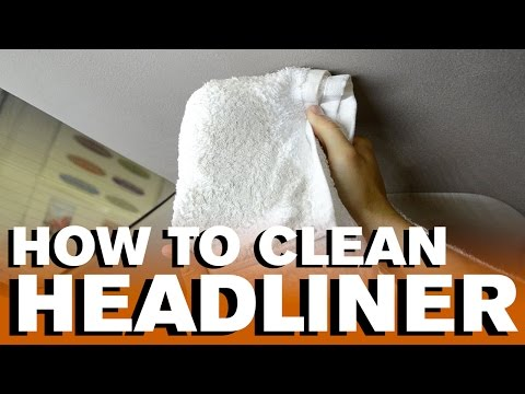 How to Clean a Car's Headliner