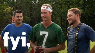 Tiny House Nation: Zack And John Play Football With Deion Sanders  Season 4, Episode 3  | Fyi