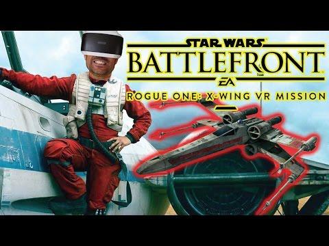 NO LO CREERAS HASTA QUE LO PRUEBES | Battlefront: X-wing VR Mission