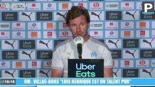 """Mercato OM : """"Luis Henrique est un talent pur"""", affirme Villas-Boas"""