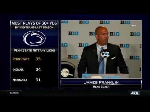 James Franklin - 2016 Big Ten Football Media Days
