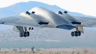Самые крутые и мощные самолеты невидимки. Стелс самолеты!