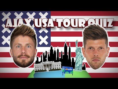 AJAX USA TOUR QUIZ #5 - 'Ik kijk hier echt nooit naar!'