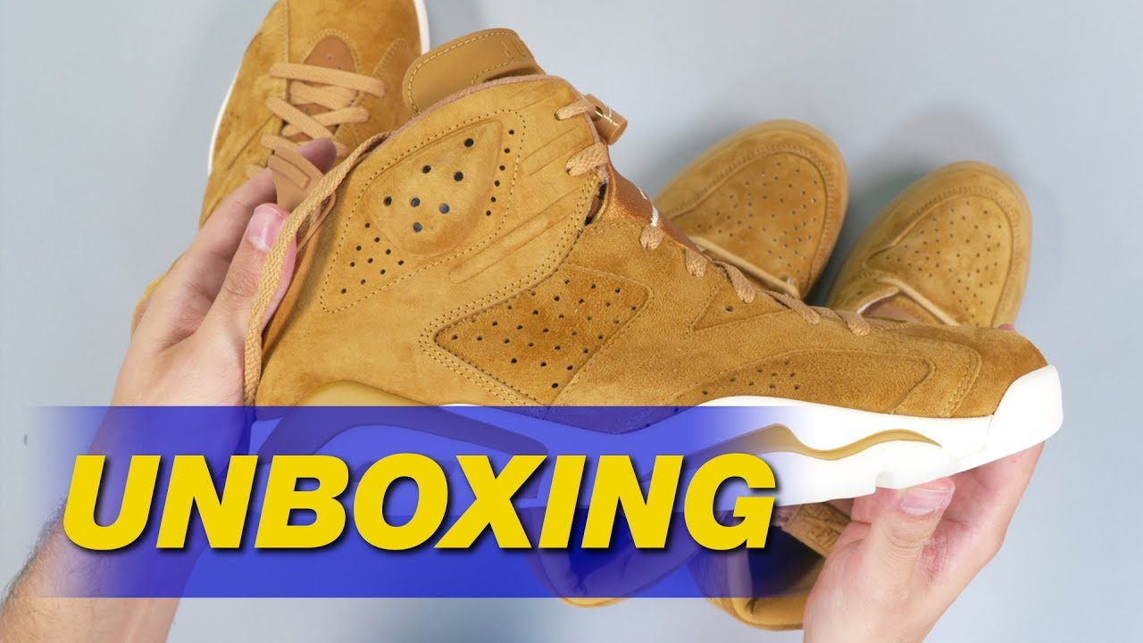ef72012f4fd Air Jordan 1 I 6 VI 13 XIII Wheat Unboxing | Sole Collector