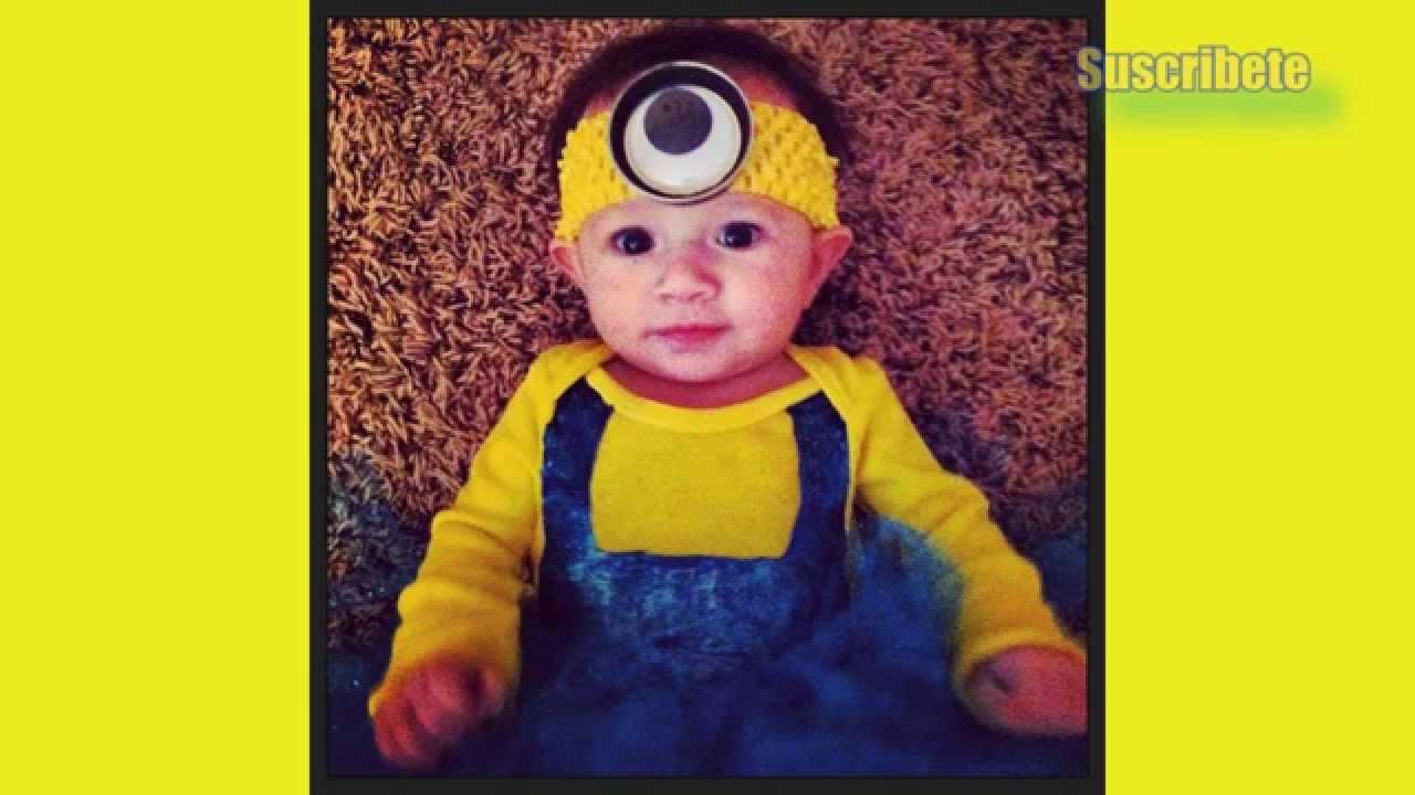 20 disfraces minion para bebe youtube - Disfraces bebe halloween ...