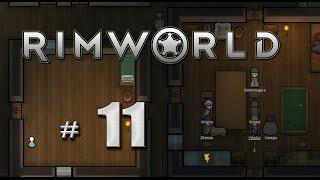 RimWorld Альфа15 на русском (11) Свадьба, пьяные животные и голод
