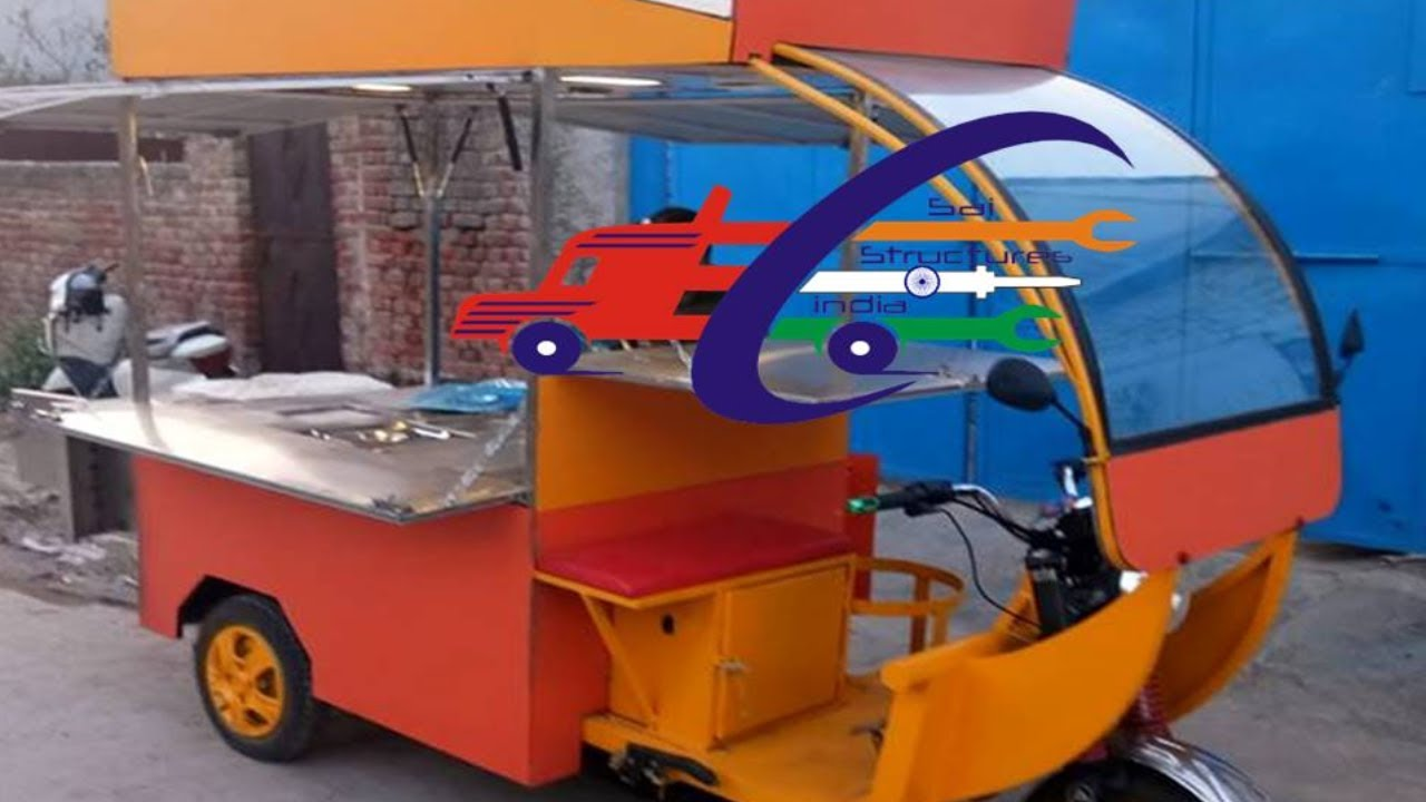 Electric Street Food Cart In Noidassi E Food Carts Business In