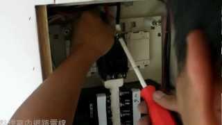 舊屋翻新全紀錄●水電師傅如何整理電箱線路