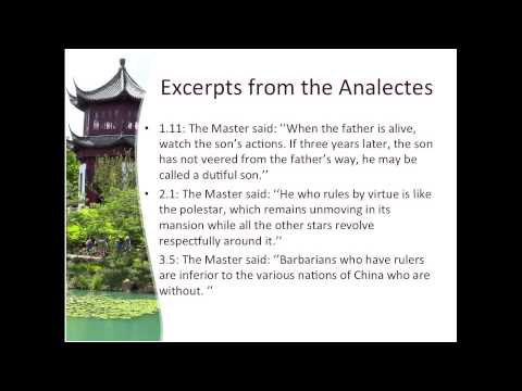 Confucius & The Analects