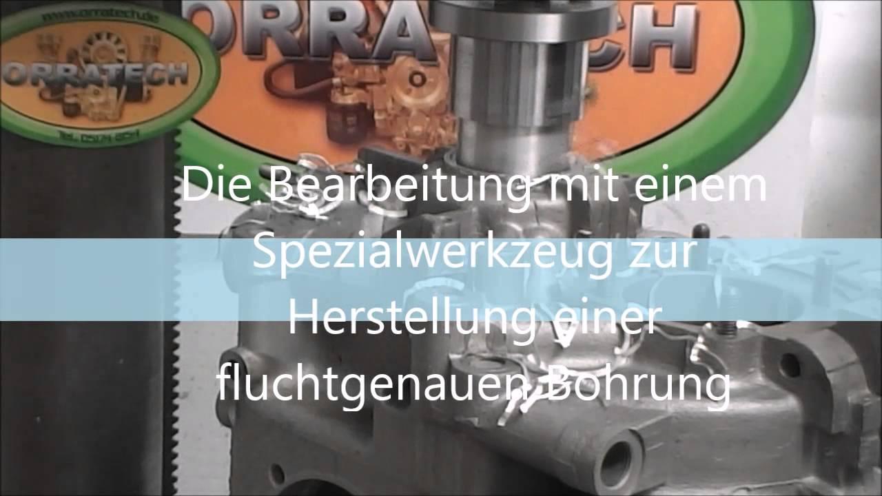 Kurbelwellensimmerring unter Schwungrad VW Typ4