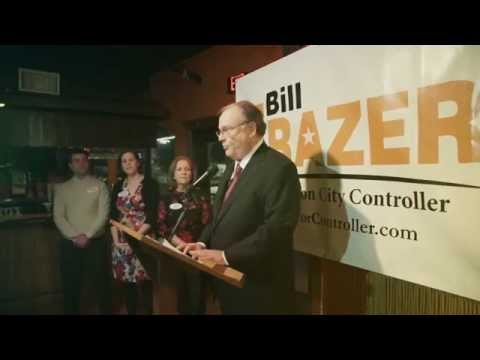 Vote Bill Frazer, CPA for Houston City Controller