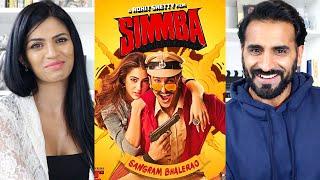 SIMMBA | Ranveer Singh | Sara Ali Khan | Trailer REACTION!!