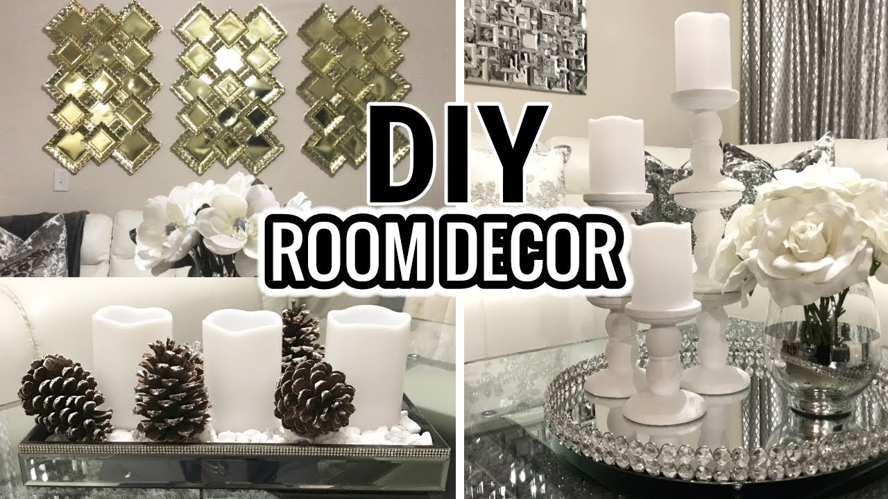 Diy room decor dollar tree diy home decor ideas youtube for Diy room decorations youtube