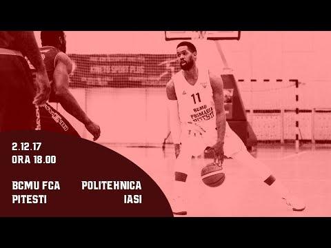 LNBM 2017-2018: BCMU FC Arges Pitesti - Politehnica Iasi