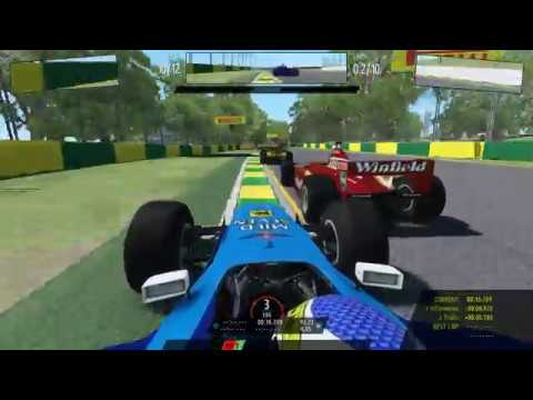 RFactor 2 : F1 1998 . Benetton . Melbourne . T500rs + F1 Add On