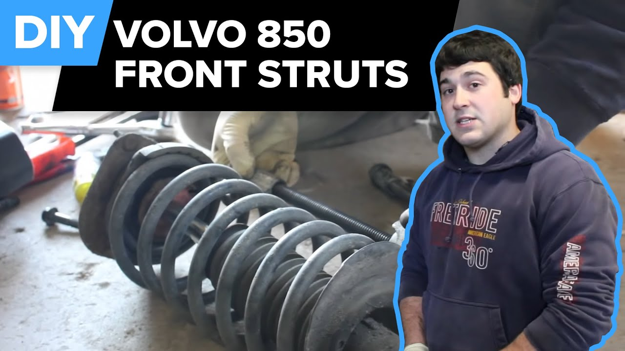 When To Replace Shocks And Struts >> Volvo Strut Replacement (850 Front Struts, Mounts, Spring ...