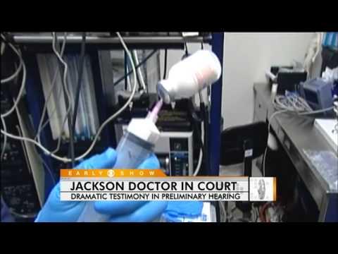 Michael Jackson's Doctor In Court
