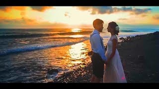 Свадьба у моря! Шикарные ракурсы. Реально очень красиво!