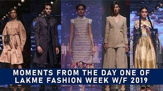 Moments From The Day One Of Lakme Fashion Week Winter/Festive 2019