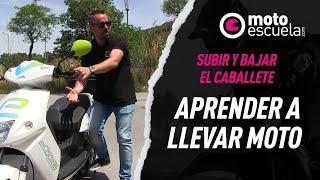 Gambar cover Motoescuela - Ecooltra Subir y Bajar caballete