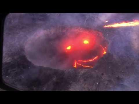Kilauea Smiling Volcano, A Proper Smile.
