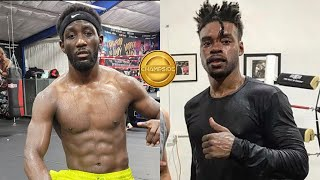 TERENCE CRAWFORD FIGHTING ERROL SPENCE JR OPPONENT ONE WEEK BEFORE RETURN!