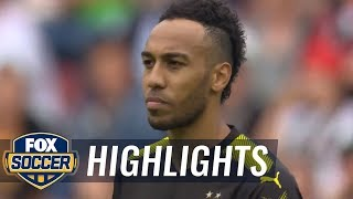 FC Augsburg vs Borussia Dortmund  2017-18 Bundesliga Highlights