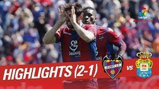 Resumen de Levante UD vs UD Las Palmas (2-1)