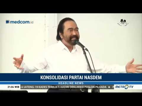Video Syahrul Yasin Limpo Ingin diajak bergabung Partai Nasdem