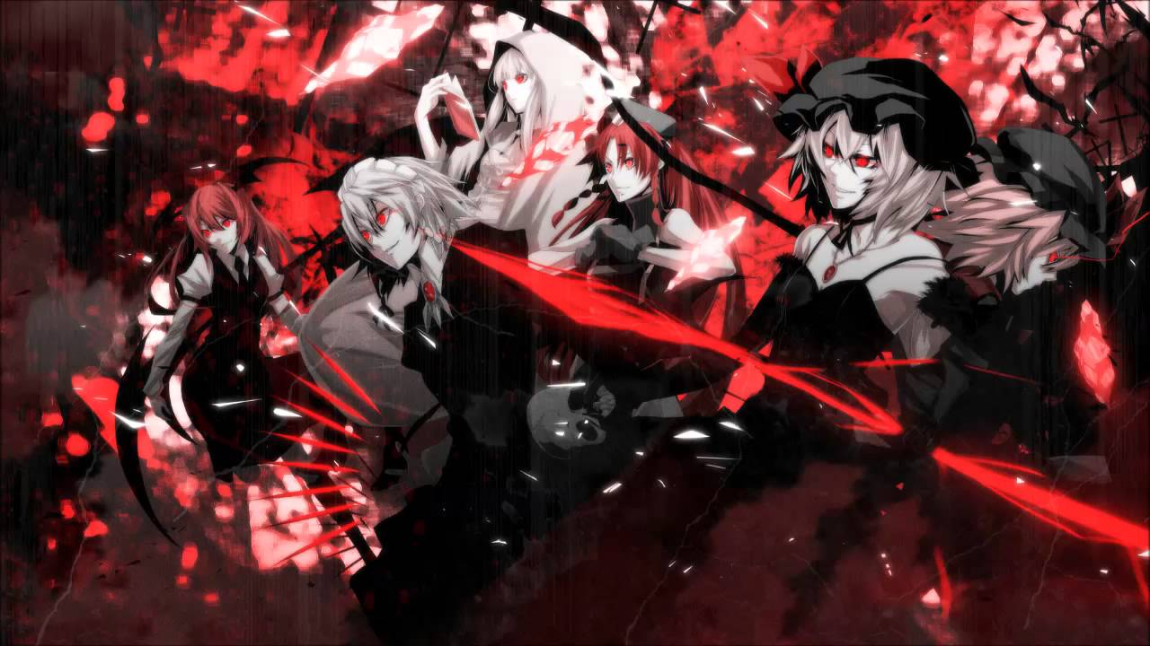 Anime Girl Wallpaper White Haired Demon Guy Bemani 215 東方project Ultimate Masterpieces ~ Russian Caravan
