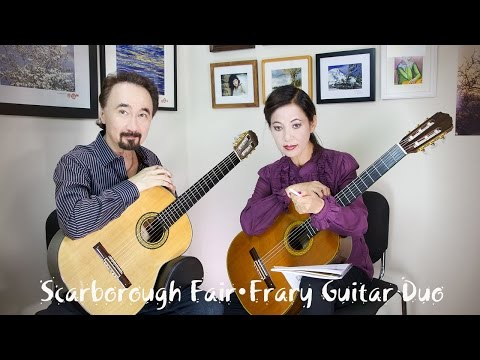 Scarborough Fair - Frary Guitar Duo