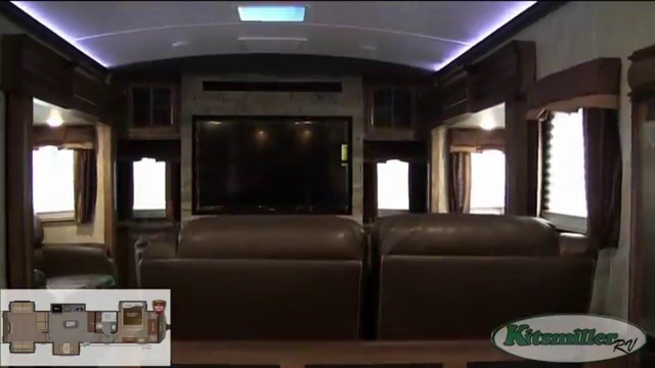 2016 montana 3790rd rear den fifth wheel kitsmiller rv youtube