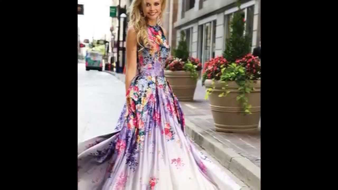 Jovani Prom Dresses 2015 - YouTube