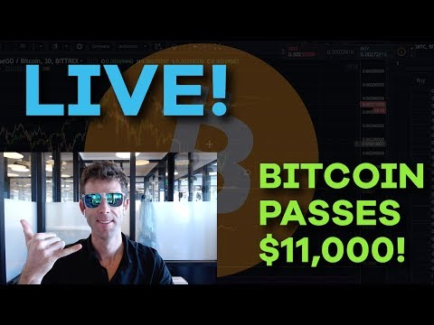 LIVE: Bitcoin Passes $11,000!! What To Do Next, Market Conditions, Bubble Fears, Q&A - CMTV Ep95