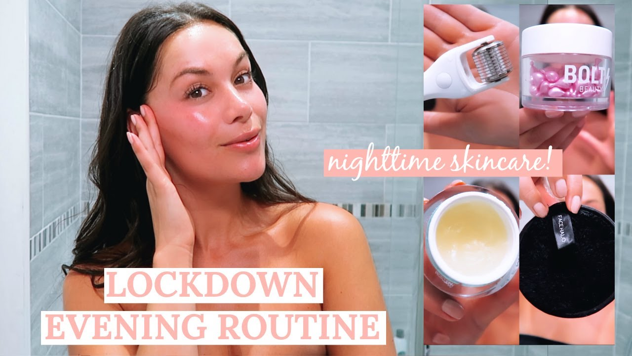 Get Unready With Me Evening Skincare Routine Beauty S Big Sister Youtube
