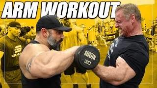 Gorilla Arm Workout For Mass | Featuring IFBB Pro Guy Cisternino