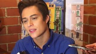 Enrique Gil on meeting MayWard in Paris and introducing Liza to his family in Spain