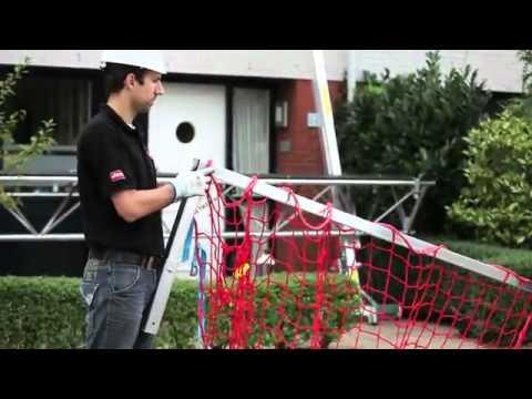 passerelle mtb homologuée bas de pente (protection couvreur) - youtube