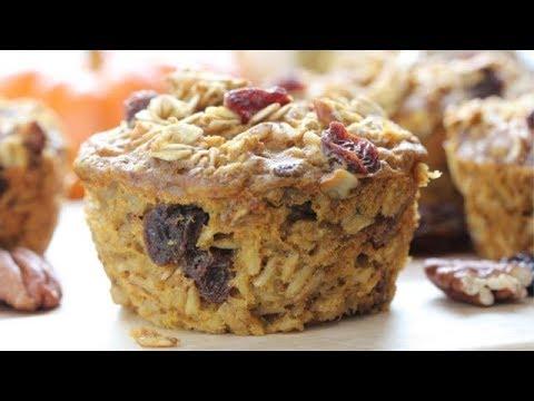 pumpkin-oatmeal-muffins-|-healthy-grab-n-go-breakfast