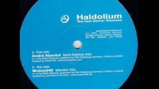 Haldolium - The Last Dance (Andre Absolut Remix)