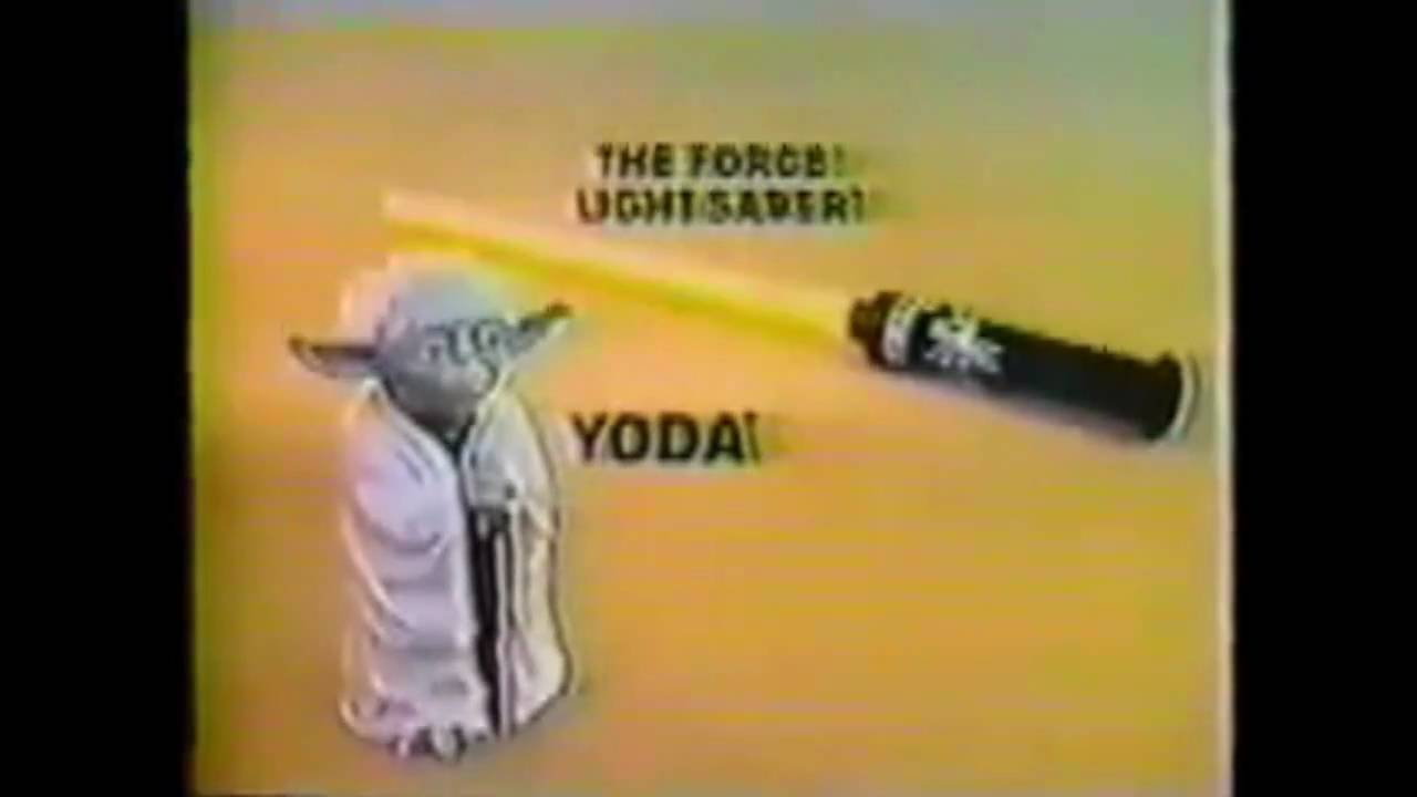 1981 The Empire Strikes Back Yoda Puppet And The Force Lightsaber
