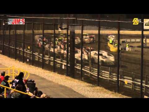 New Egypt Speedway Street Stock/Crate Mod/Sprint highlights 8-8-15