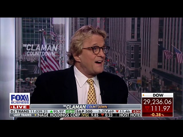 Paul Dietrich   Fox Business News 2 20 2020 The Claman Countdown