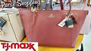 Purse SHOPPING DESIGNERS NAME BRANDS TJ MAXX SHOP WITH ME 2020