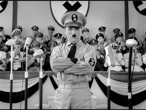 Речь Чаплина в конце фильма «Великий Диктатор»  1940 год