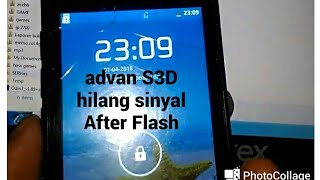 Solution When Flashing Advan S3D Mobile Phone Failed.